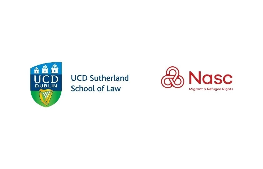 UCD Sutherland School of Law and Nasc logos